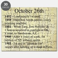 October 26th Puzzle