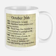 October 26th Mugs