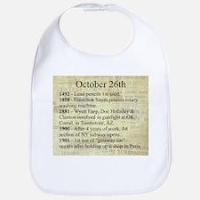 October 26th Bib