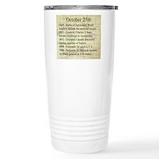 October 25th Travel Mug