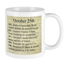 October 25th Mugs