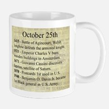 October 25th Mugs