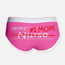 Job Mom Nurse Women's Boy Brief