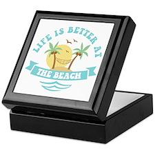Life's Better At The Beach Keepsake Box