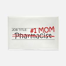 Job Mom Pharmacist Rectangle Magnet