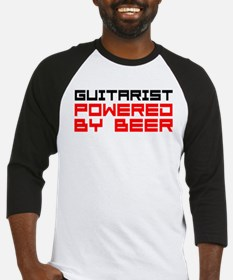 Guitarist Powered Beer Baseball Jersey