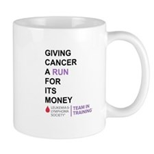 Give Cancer a Run for Its Money Mugs