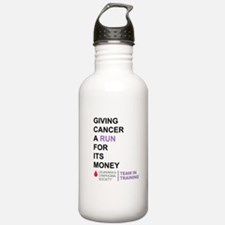 Give Cancer a Run for Its Money Water Bottle
