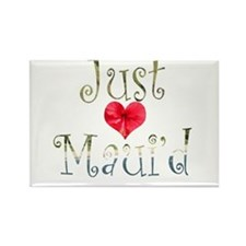 Just Maui'd Hibiscus Heart Rectangle Magnet