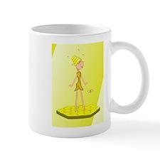 Beehive Cute Girl Mugs