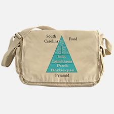 South Carolina Food Pyramid Messenger Bag