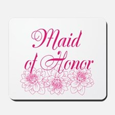 Pink Maid of Honor Mousepad