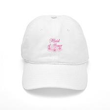 Pink Maid of Honor Baseball Baseball Cap