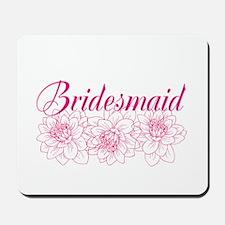 Pink Bridesmaid Mousepad
