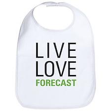 Live Love Forecast Bib
