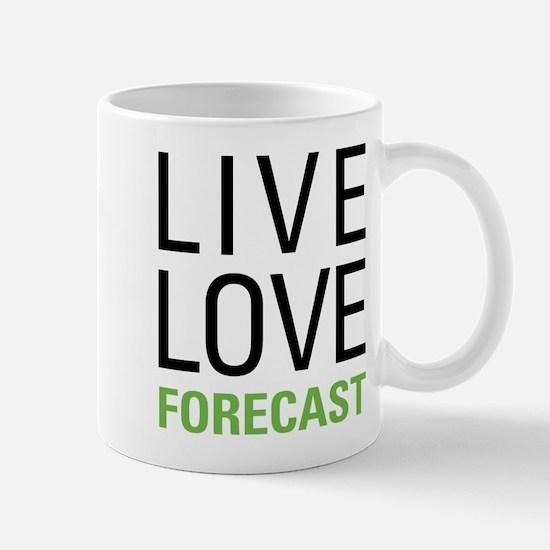 Live Love Forecast Mug