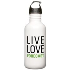 Live Love Forecast Water Bottle
