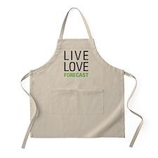 Live Love Forecast Apron