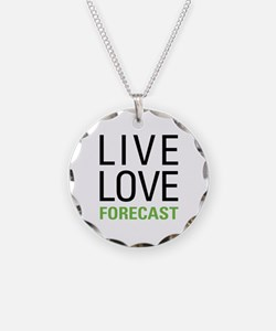 Live Love Forecast Necklace