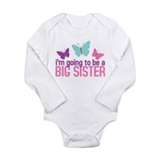 butterfly big sister to be Body Suit