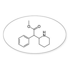 Methylphenidate Molecule Decal