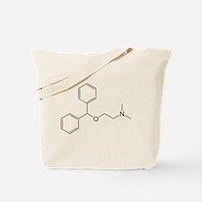 Diphenhydramine Molecule Tote Bag