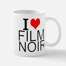 I Love Film Noir Mugs