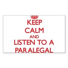 Keep Calm and Listen to a Paralegal Decal