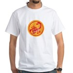 African Terrorist Hunter White T-Shirt