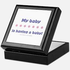 My Baby Keepsake Box