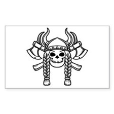 Valhalla Rectangle Decal