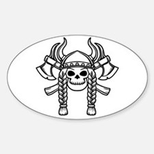 Valhalla Oval Decal