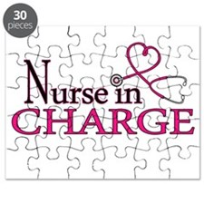 Nurse in Charge - Pink Puzzle