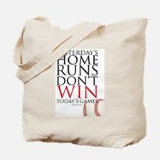 Yesterday's Home Runs Tote Bag