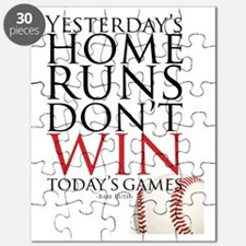 Yesterday's Home Runs Puzzle