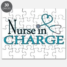 Nurse in Charge - Blue Puzzle