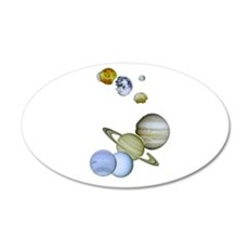 Our Solar System Planets Wall Decal