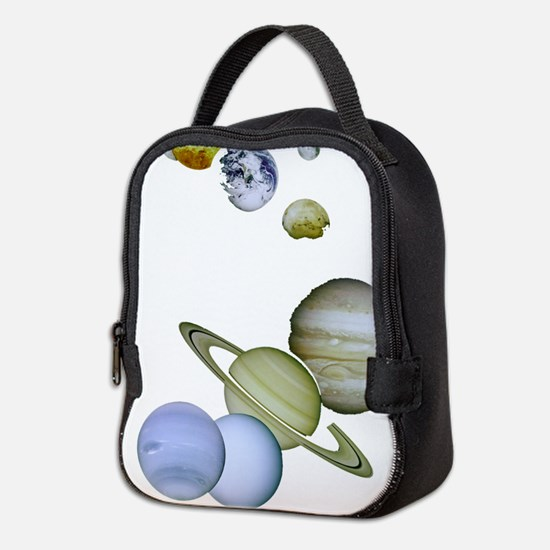 Our Solar System Planets Neoprene Lunch Bag