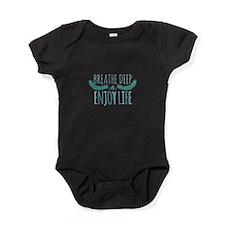Breathe deep Baby Bodysuit