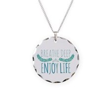 Breathe deep Necklace