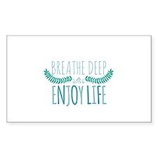 Breathe deep Decal