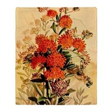 Butterfly Weed Throw Blanket