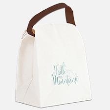 Faith Moves Mountains Canvas Lunch Bag