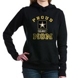 Army mom Hooded Sweatshirt
