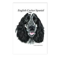 English Cocker Spaniel Postcards (Package of 8)