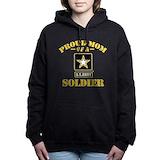 Army mom Hooded Sweatshirt