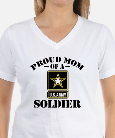Proud U.S. Army Mom Shirt