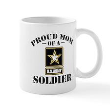 Proud U.S. Army Mom Small Mug