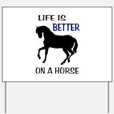 HORSE LOVE Yard Sign
