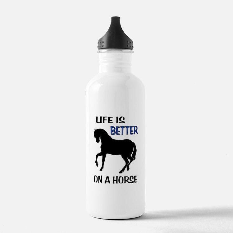 Water Bottle Quarter Prank: Quarter Horse Water Bottles